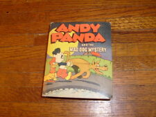vintage BIG LITTLE BOOK: ANDY PANDA AND THE MAD DOG MYSTERY