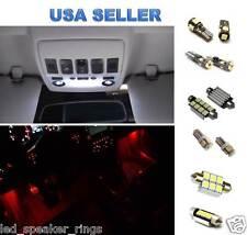 12pc  LED Interior Light Kit For Volkswagen MK5 GTI GOLF RABBIT RED Footwell LED