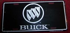 BUICK AUTOMOBILE LICENSE PLATE~BLACK~NEW