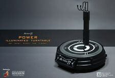 ACTION TT POWER SOCLE STAND LED ROTATIF Hot Toys DISPO