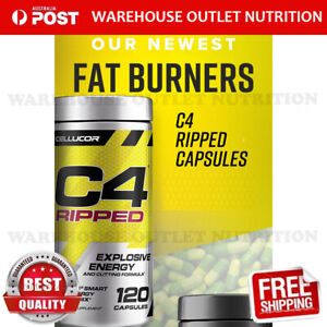 Cellucore C4 Ripped 120 capsules NEW FOR ENERGY FOCUS FATBURN WEIGHT LOSS