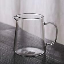 Grand verre clair Gongfu Tea Cha Hai Servant lanceur juste Coupe 480ml 16oz