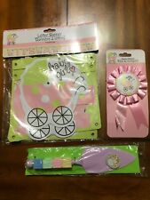 Set Of baby shower Banner,Award Ribbon And Cake Cutter