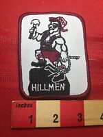 HILLMEN - Lumberjack Looking Dude Circa 1980s / 90s Advertising Patch 76YD