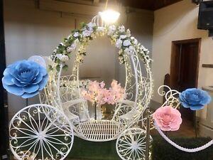 Cinderella Fairytale Carriage Princess Party Disney Wedding Hire Photo Booth