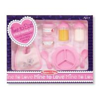 MELISSA & DOUG Mine to Love - Baby Food & Bottle Set Item #4888 (FREE SHIPPING)