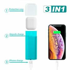 AirPods Protective Cover Charging Case 5000mAh 3 in 1 Ultra Portable Power Bank