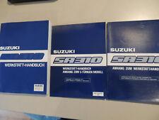 Werkstatthandbuch Suzuki Swift SA310 1986/87 Reparaturanleitung
