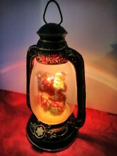 Snow Globe Christmas Lantern Santa