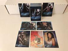 ALIEN vs. PREDATOR AVP Inkworks 2004 Complete Trading Card Set + 2 PROMOS P1 PUK