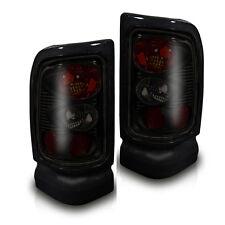 Tail Light For 94-01 Dodge  Ram  Black / Smoke Lens PAIR