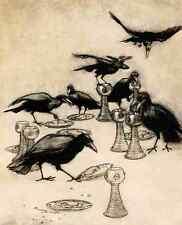 A4 Foto los cuentos de hadas de los hermanos Grimm 1909 10 impreso Poster