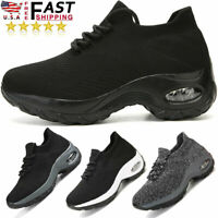 Womens Air Cushion Shoes Athletic Running Casual   Walking Tennis Sneakers Gym