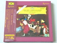 ESOTERIC Eugen Jochum Orff Carmina Burana Fischer-Dieskau SACD Hybrid JAPAN