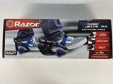 Razor Turbo Jetts Electric Heel Wheels Blue Lights in wheels NEW