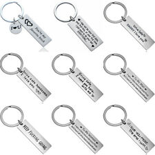 Drive Safe Keyring Love Couple Husband Boyfriend Girlfriend Gift Key Ring Chain