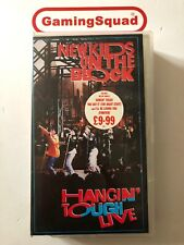 New Kids on the Block, Hangin' Tough Live VHS Video, Supplied by Gaming Squad