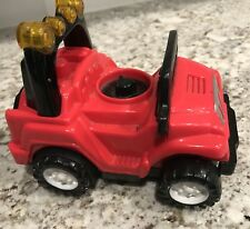 Fisher Price Little People Power Wheels Jeep Red Car Truck