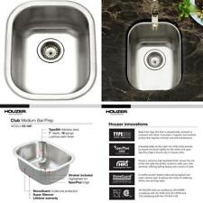New listing Houzer Cs-1407-1 Club Series Undermount Medium Bowl Bar/Prep Sink