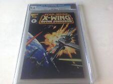 STAR WARS X-WING ROGUE SQUADRON WIZARD 1/2 CGC 9.6 COA DARK HORSE COMICS