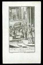 santino incisione 1700 VITA DI S.ANTONIO DA PADOVA 2  engelbrecht