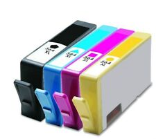 4PK #564XL Ink Cartridges for HP Deskjet 3070a 3520 3521 3522 3526