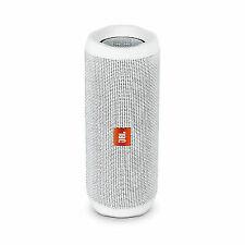 JBL Flip 4 Portable Bluetooth Speaker - White