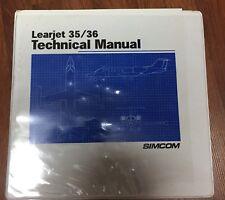 Learjet 35/ 36 Technical Manual SIMCOM