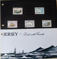 """Jersey Stamps """"Jersey Links with Canada"""" MNH Presentation Pack 1978"""