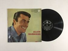 ALAIN BARRIERE S/T LP RCA Victor 430.102 S France 1963 VG 5E/A