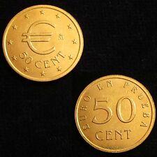 *GUTSE* 50 CÉNTIMOS DE EURO EN PRUEBA *CHURRIANA*, SIN CIRCULAR