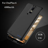 6500mAh External Power Bank Pack USB Battery Charger Adapter Case for OnePlus 6T