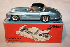 Tekno 1/43 VINTAGE #925 Mercedes-Benz 300SL, colore blu pallido, SUPERBO, confezione originale.