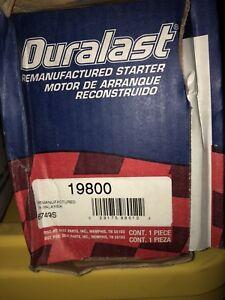 Starter Motor-Duralast_Gold Import fits 03-06 Nissan Sentra 1.8L-L4 19800