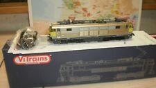 loco électrique quadricourant 1608 Oostende SNCB Vitrains 2168 HO