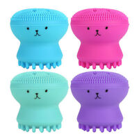 Silicone Face Deep Cleansing Brush Exfoliating Octopus Facial Massage KL