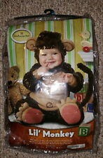 Children's Halloween Little Monkey Costume Incharater 18 - 24 Months Soft Plush
