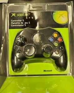 Original Microsoft XBOX Controller S Black OEM GENUINE BRAND NEW SEALED