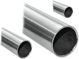 K240 140cm auf Zuschnitt Edelstahl Rundrohr V2A /Ø 80x2mm L/änge 1400mm
