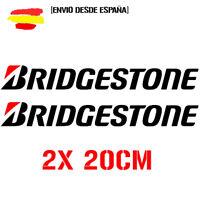 Vinilo de corte pegatinas Bridgestone  X2 DE 20cm sticker decal