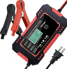 Automatic Car Battery Charger Repair Power Bank Jump Starter 12V6A Portable Red