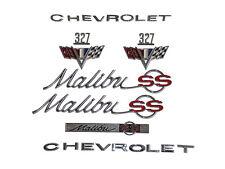 65 Chevelle Malibu SS 283, 327 or 350 Emblem Kit