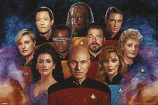 STAR TREK- THE NEXT GENERATION SCIENCE FICTION MOVIE TV SHOW WALL ART COOL FUN!!