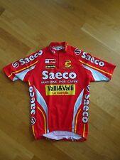 Radtrikot cycling jersey maillot maglia Cannondale Saeco XXL rot