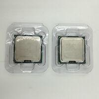 2pcs Intel Xeon X5460 Quad-Core 3.16 GHz 12M 1333MHz SLANP Socket 771 CPU