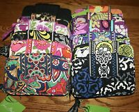 Vera Bradley SMARTPHONE WRISTLET iPhone 5 wallet zip around 5.5 x 3.75   MSRP$49