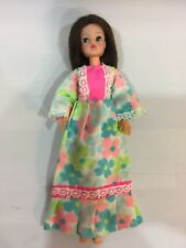 Vintage Pedigree Sindy Doll Gauntlet With 1970s Lounger Dress