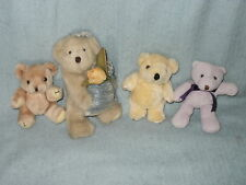 Three Small Teddy Bears