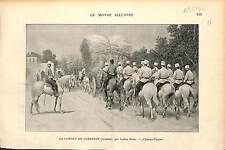 Fourrage Forage ALGERIA ALGERIE / Francis Tattegrain Les Bouches inutiles 1896