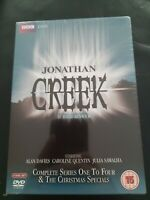 Jonathan Creek | Complete Series 1-4 + Specials | 9-Disc DVD Box Set | Brand New
